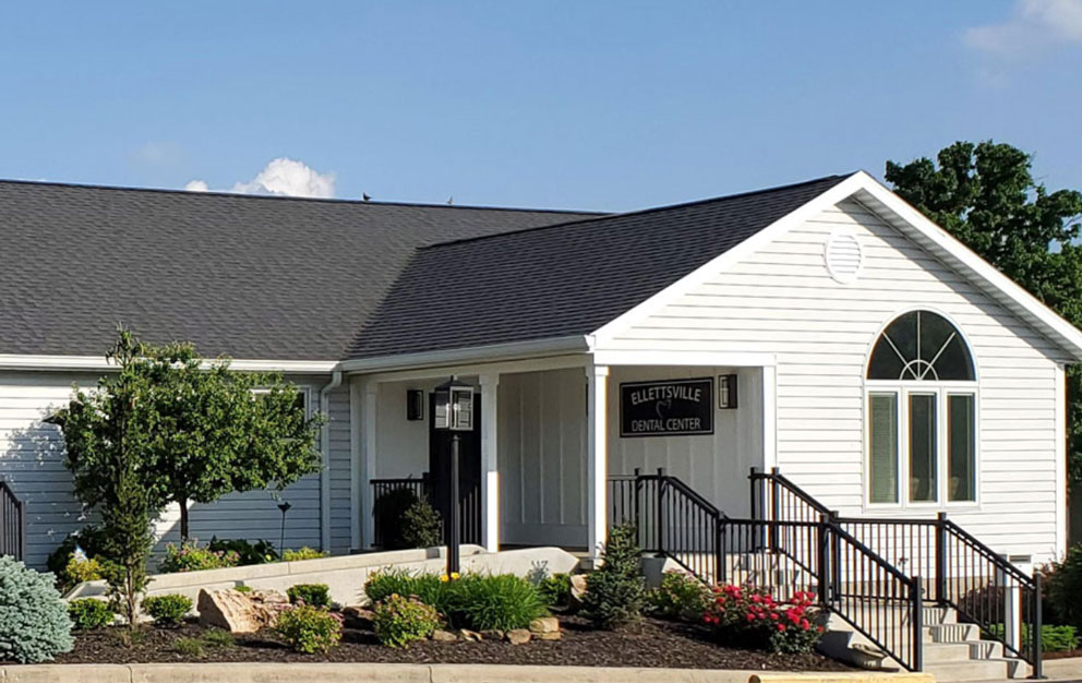 Ellettsville Dental Center | View of the front of our building